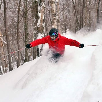 skiing northern vermont